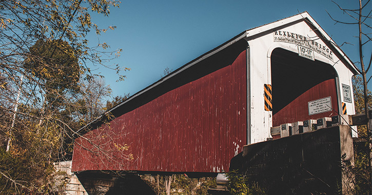 rexleigh covered bridge