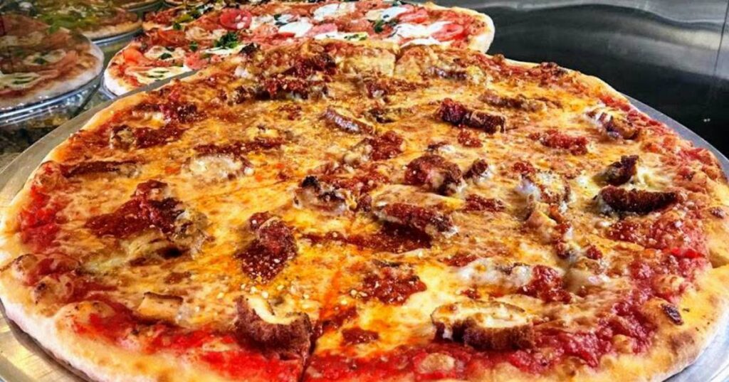 Chicken Parmigiana Pizza with other tempting options