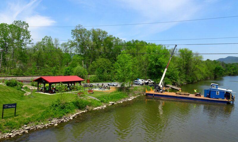 Fort Ann Kayak Launch Docks